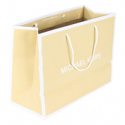 Michael Kors Shopping Bag Tan White