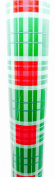 Christmas Plaid Gift Wrap,recycled,Premium,red/green(2.7mx 80cm )USA
