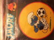 Smurf 18cm hoop stitchery Kit Soccer