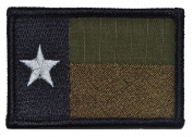 Texas State Flag Lone Star 2x3 Military Patch / Morale Patch - Multiple Colours