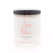 Olivine Atelier - All Natural / Vegan Love + Peace Sparkling Pink Butter Bath Salts