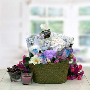 Healing Spa Pampering Bath and Body Gift Basket | Lavender Scented