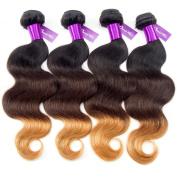 Queen Star Hair Weave Hair Extension 22 24 26 70cm Brazilian Virgin Hair Body Wave Bundles More Thicker and Full Head 100% Unprocessed Hair Weft Grade 6a
