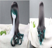 Weeck Anime Long Wavy Women's Curly Hair Girls Cosplay Wig