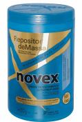 6 Pack Case - Embelleze Novex Hair Body Builder Treatment Cream with Max Lanolin - 420ml | Embelleze Novex Repositor de Massa Creme de Tratamento Capilar - 400 g