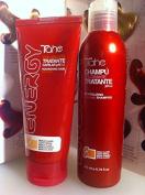 Tahe Energy Nourishing Hair Colour Light Moka 150ml Ph3.5 Plus Energy Shampoo 200ml