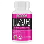 Biotin Biotin Hair Growth Supplements 10,000Mg Max Strength 60 Natural Tablets