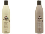 "Coconut Oil Revitalising Hair Shampoo and Conditioner Set by Hair Chemist| Pure Organic Coconut Extract for Strenth, Manageability & Shine | Great for Natural Hair and Weaves. Ebook ""The Hair Care Guide for Lasting Extensions and Grow Your .."