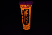 PaintGlow 10ml/.34oz Blacklight Reactive Face and Body Paint- Terracotta