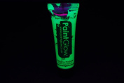 PaintGlow 10ml/.34oz Blacklight Reactive Face and Body Paint- Neon Green