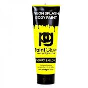 Paint Glow 250ml UV Blacklight Reactive Neon Body Splash Paint- Neon Yellow