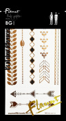 Bg Body Graphics Temporary Tattoo Flaunt 10