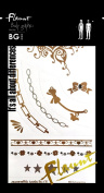 Bg Body Graphics Temporary Tattoo Flaunt3