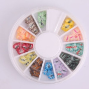 Vip Beauty Shop 3d Nail Art Wheels DIY Decorations