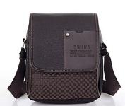 Men's Pu Leather Messenger Bag Handbag Briefcase Laptop Shoulder Bag