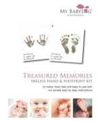 Mybabylog Inkless Wipe Hand and Foot Print Kit by MyBabylog