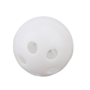 Toy Rattle Ball Repair Replace Pet Baby Toy Noise Maker Insert Squeaker 28mm Diameter White Pack of 50