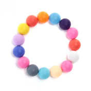 iNeibo Baby Silicone Teething & Nursing Bracelet - Safe BPA Free Teether For Mom Relief Pain - Soft & Chewable