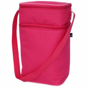 JL Childress 6 Bottle Cooler Bag, Pink
