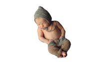Pinbo Baby Boys Girls Photo Photography Prop Crochet Knitted Hat Pants