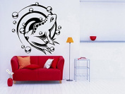 Wall Room Decor Art Vinyl Sticker Mural Decal Frog Toad Reptile Cute Big AS1972
