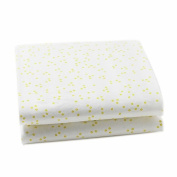 Auggie Change Pad Cover, Pebble/Fern