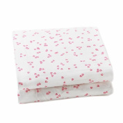 Auggie Change Pad Cover, Flutter/Pink