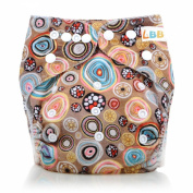 LBB(TM) Baby Resuable Washable Pocket Cloth Nappy With Adjustable Snap,Colourful Bubble