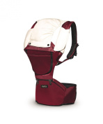 MiaMily HIPSTER baby hip carrier - Ruby Red