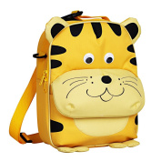 Yodo Little Kid Insulated Lunch Bag for Snack and Fruit, Yellow Tiger