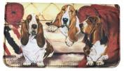 Basset Hound Dog Wallet