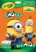 . Googly Minions Colouring Book
