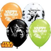 STAR WARS 28cm Happy Birthday Latex Balloons