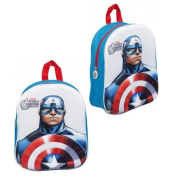 AVENGER CAPTAIN AMERICA EVA KIDS BACKPACK BAG HANDLE SCHOOL RUCKSACK JUNIOR BOYS