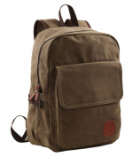 Unisex Adults Mens Womens Canvas School Bag 37cm Laptop Backpack