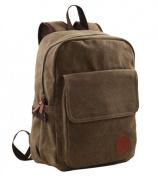 Unisex Adults Mens Womens Canvas School Bag 37cm Laptop Backpack