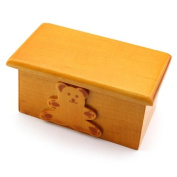 MyTinyWorld Dolls House Miniature Childrens Wooden Toy Box