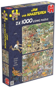 Jan van Haasteren - Safari and Storm 1000 Piece Jigsaw Puzzles