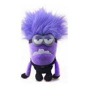 30cm Plush Toy Despicable Me 2 Evil Minion Bad Minion Purple 2 Eyes Birthday GIFT