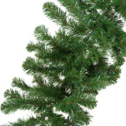 CHRISTMAS DECORATION - a 2.7m undecorated xmas green pine garland