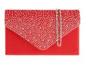 fi9® LADIES DIAMANTE BLING PARTY PROM BRIDAL EVENING CLUTCH HAND BAG PURSE HANDBAG