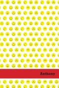 Etchbooks Anthony, Emoji, College Rule