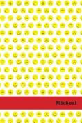Etchbooks Micheal, Emoji, College Rule