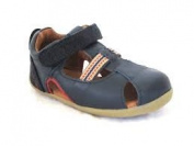 Bobux Step-Up Intrepid Closed Toe Navy Sandal (Style #7227) (Eu 18