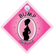 Bump On Board Car sign, Bump on Board, Bump on Board Sign, PINK, Baby on Board Sign Style, Mum to be Sign, baby on board, Baby On Board Sign Style, Maternity, Pregnanacy, decal, bumper sticker