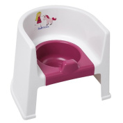 Safetots Princess and Pony Potty Chair with Pink Removable Pot