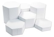 Riser Set 6 piece White Jewellery Display