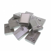 12 Luxury Silver Jewellery Necklace Gift Present Boxes by Kurtzy TM