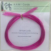 MAGENTA MIZUHIKI - Package of 20 strands