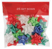 BERWICK OFFRAY 74000 25 Count Traditional Star Bow Bag for Decoration